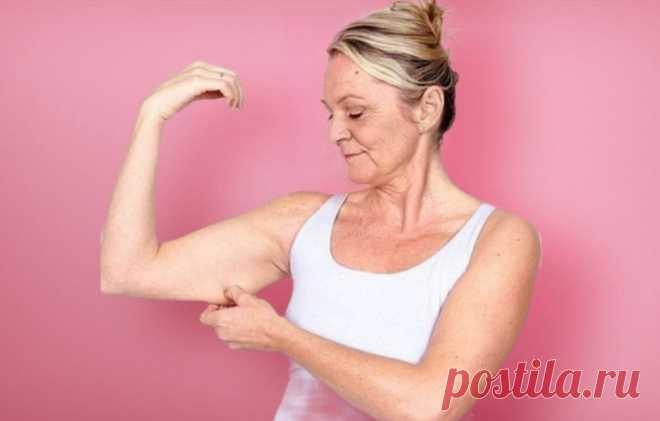 Как подтянуть дряблые и обвисшие руки женщине. Получите результат через 3 недели | Геннадий Лянго | Яндекс Дзен