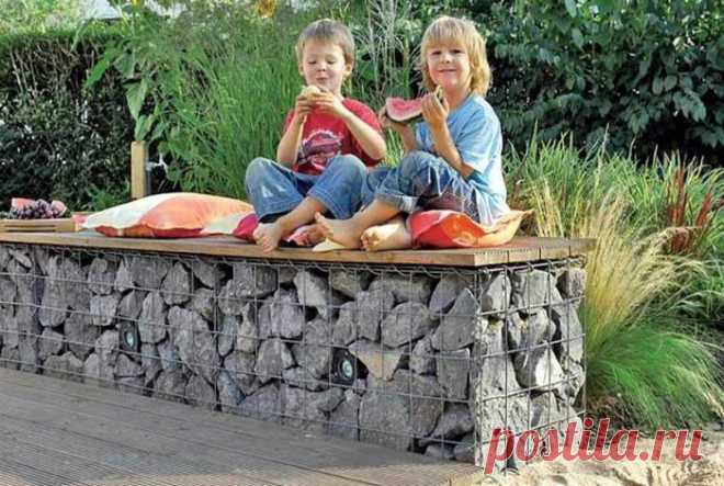 Садовая мебель, которую можно сделать своими руками, не выходя за рамки скромного бюджета