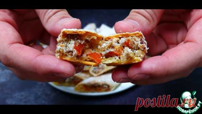 Печенье с курагой и орехами Кулинарный рецепт