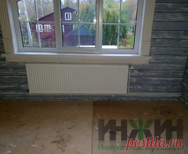 Монтаж отопления в деревянном доме, фото 802