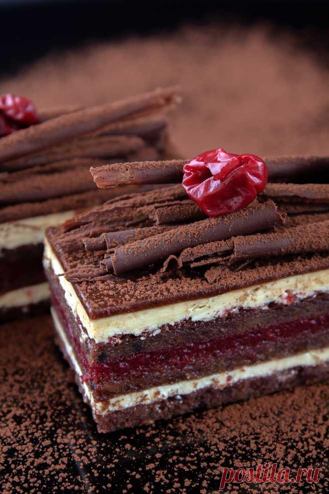 Победа. Шоколадно-вишневая Опера с красным вином : birosss — ЖЖ