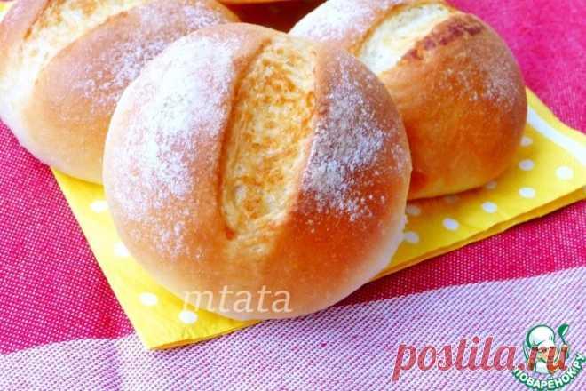 Французские булочки со сливочным маслом Кулинарный рецепт