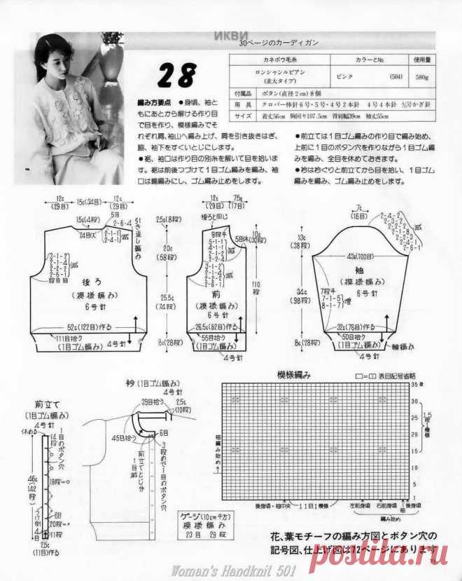 Вязаные модели от очень простых до сложных из японского журнала | Сундучок с подарками | Яндекс Дзен