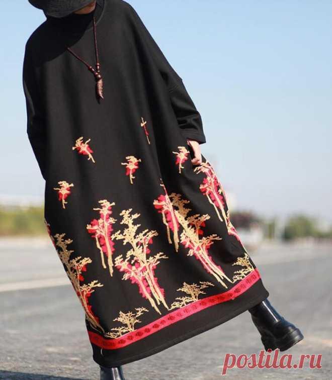 Winter maxi Dresses women warm Dresses Winter robes Plus | Etsy