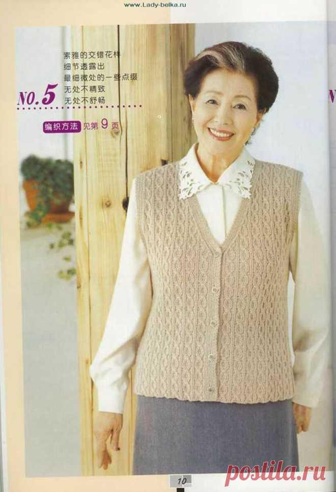 Классические вязаные изделия для женщин 50+ . Вяжите для себя в любом возрасте | Сундучок с подарками | Яндекс Дзен