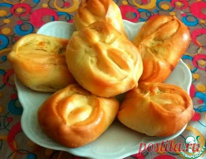 Пирожки с творогом и сыром – кулинарный рецепт