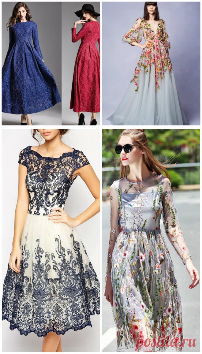 Vestidos da moda 2018: principais tendências da moda