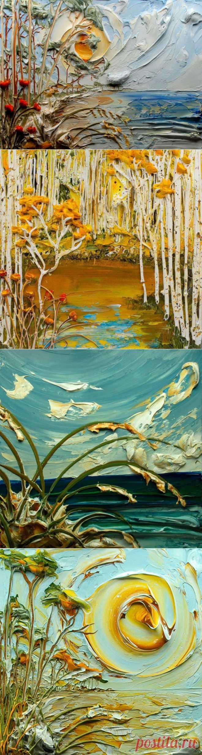 (+1) комм - Шедевры в жанре объемной живописи | Искусство