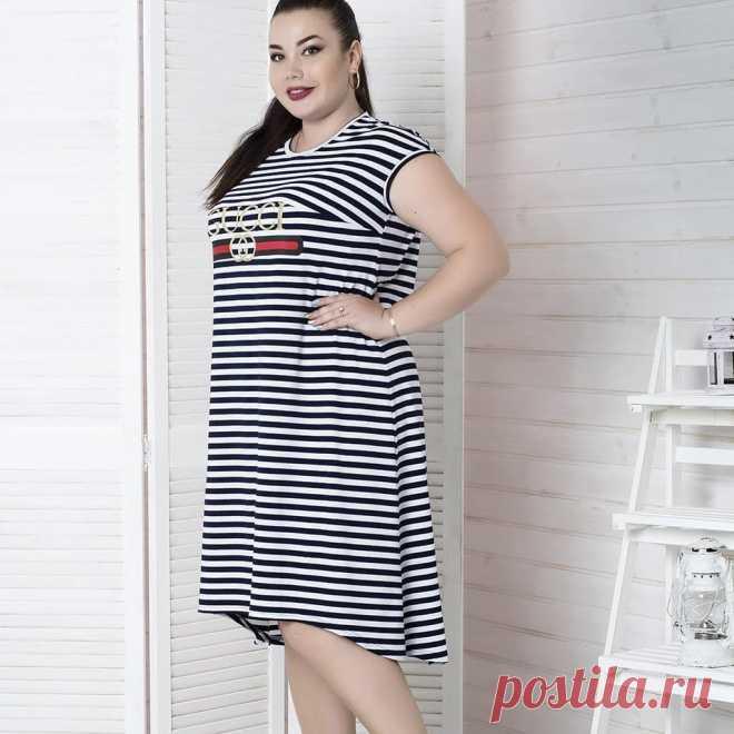 Одежда больших размеров 48-82 в Instagram: «Летнее платье большого размера «Марина полоска»  Размеры: с 48 по 82!  Ткань: вискоза  48-50,52-54,56-58 – 3000 рублей 60-62,64-66 – 3320…» 0 отметок «Нравится», 1 комментариев — Одежда больших размеров 48-82 (@butik_milora) в Instagram: «Летнее платье большого размера «Марина полоска»  Размеры: с 48 по 82!  Ткань: вискоза…»
