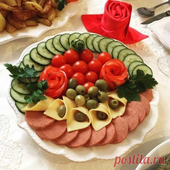 украшения вторых блюд пошаговое фото нежно цветущий