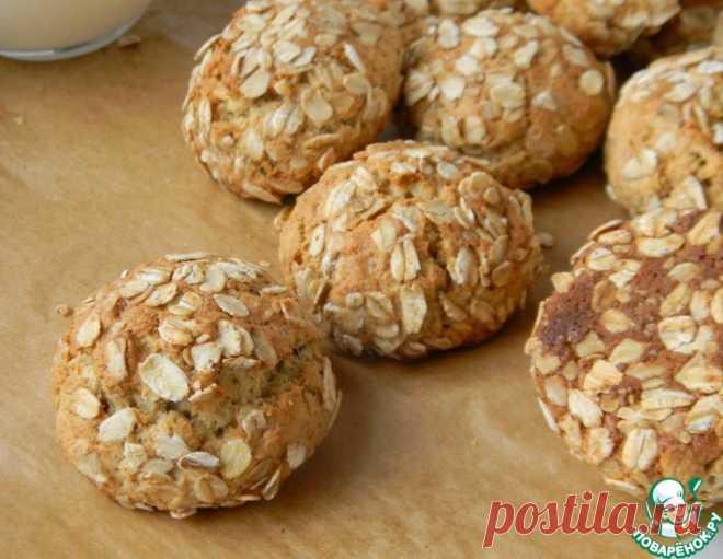 Печенье из муки киноа – кулинарный рецепт