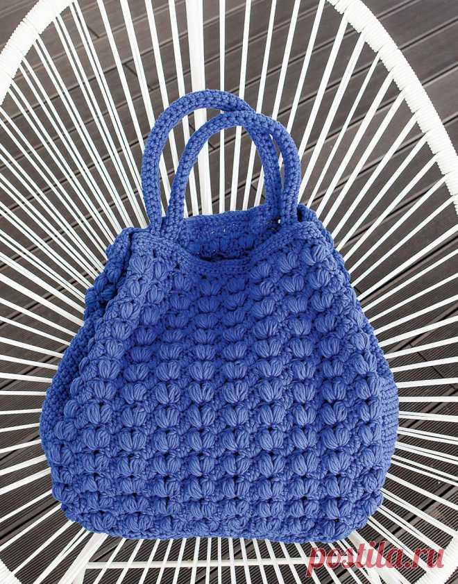 636a479a8529 Связанная крючком летняя сумка. Крючком. / peopleknit.ru | Сумки ...