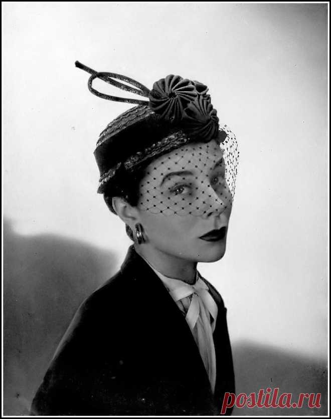 Bettina, photo by Georges Saad, 1951