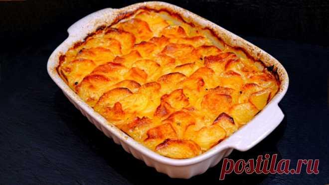 Картошка Булочника или Картофель Буланжер по-французски — Кулинарная книга