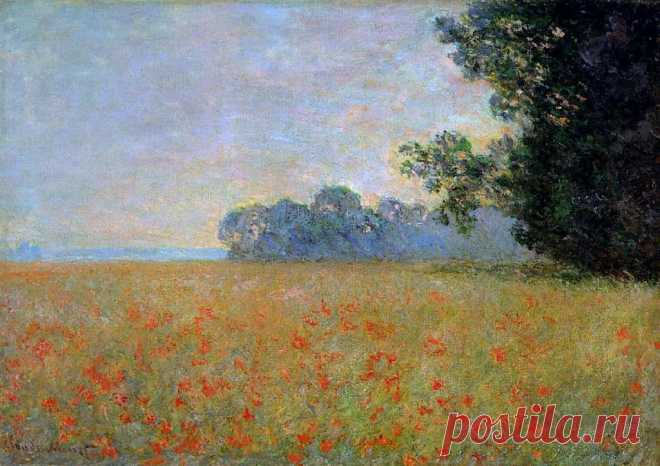 Картины с маковыми полями Клода Моне Самый известный импрессионист и «крестный отец» этого нового направления в живописи Клод Моне известен тем, что многократно возвращался к одним и тем же