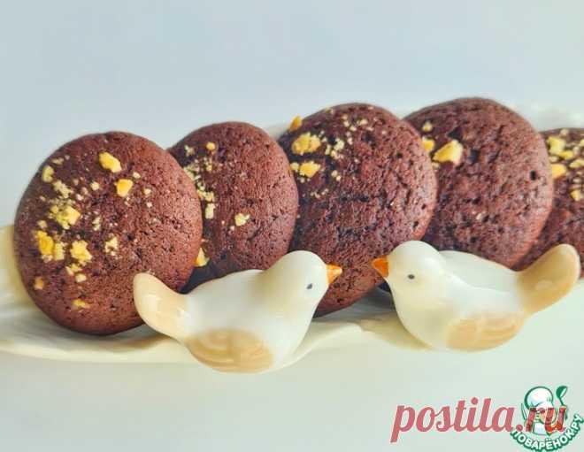 Шоколадно-апельсиновое печенье – кулинарный рецепт