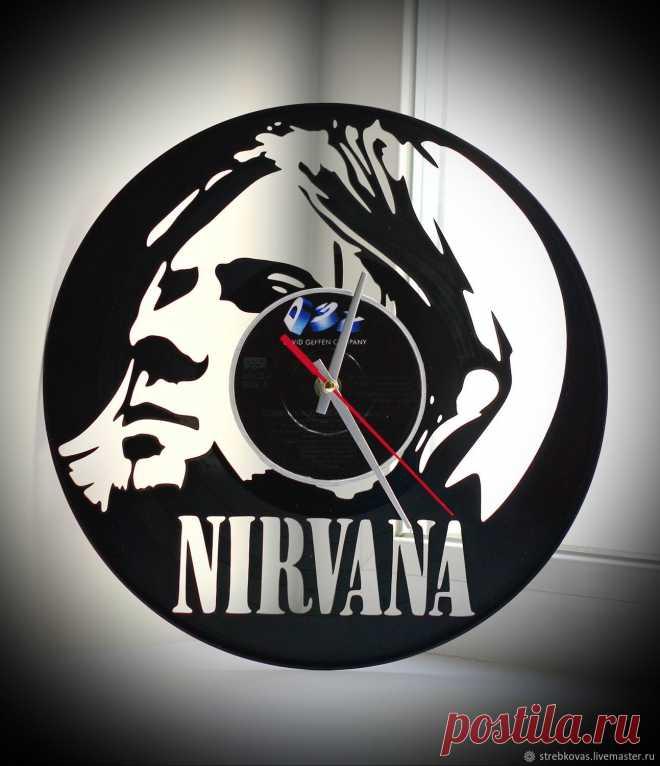 Оригинальный подарок. Часы Nirvana (Нирвана) – купить в интернет-магазине на Ярмарке Мастеров с доставкой Оригинальный подарок. Часы Nirvana (Нирвана) - купить или заказать в интернет-магазине на Ярмарке Мастеров | Часы