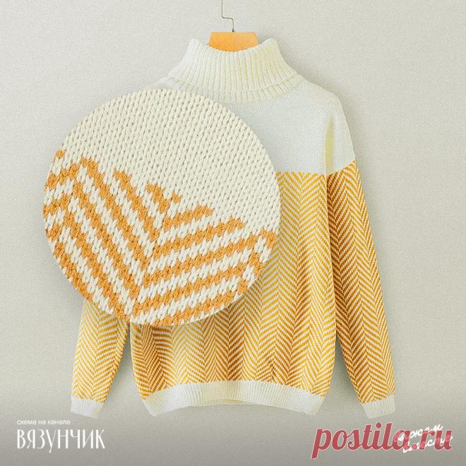 4 схемы по вашим просьбам: свитер, два кардигана и шаль спицами   Вязунчик — вяжем вместе   Яндекс Дзен