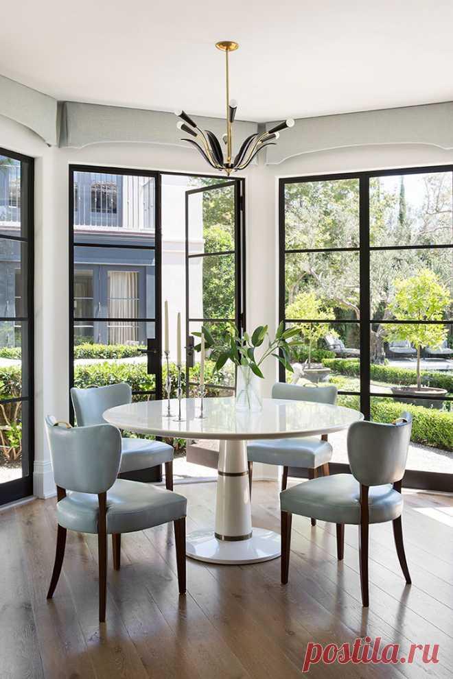 Дом в Лос-Анджелесе, вдохновленный архитектурой старой Европы