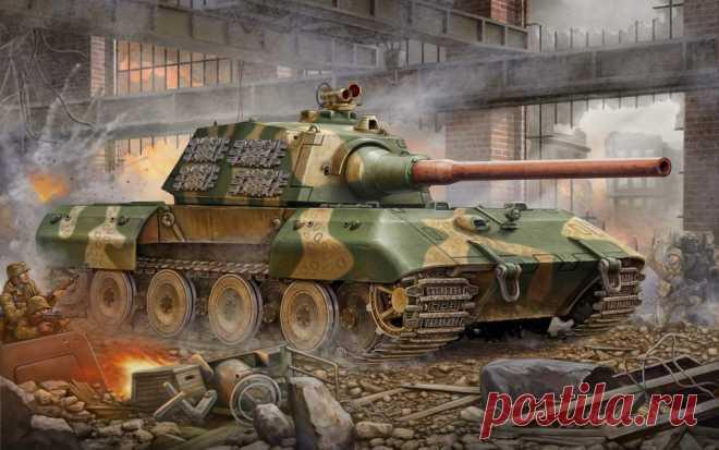Супертяжелый немецкий танк Е-100: история создания, описание, оценка проекта . Чёрт побери