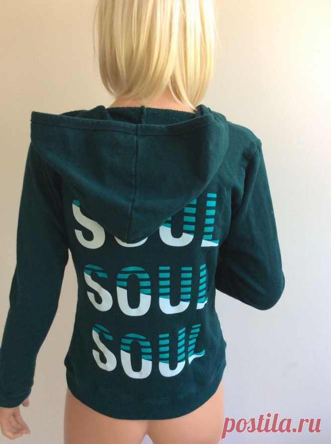 SoulCycle teal hoodie size small  | eBay Soulcycle - long sleeve teal green hoodie. size small - zip up the front. | eBay!