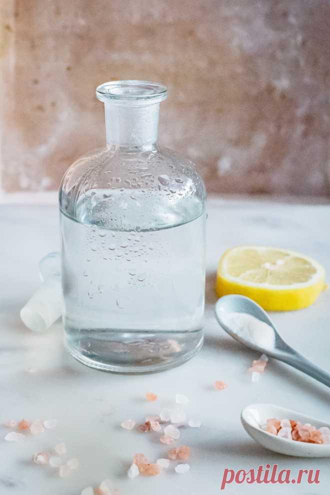Эликсир здоровья… или как приготовить щелочную воду   Всегда в форме!