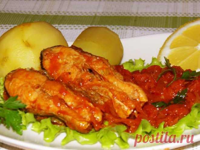 Рыба в маринаде в мультиварке рецепт с фото пошагово - 1000.menu