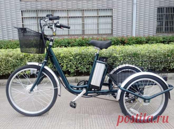 Электровелосипед-трицикл. Особенности трехколесного электробайка для взрослых | Formand | Яндекс Дзен