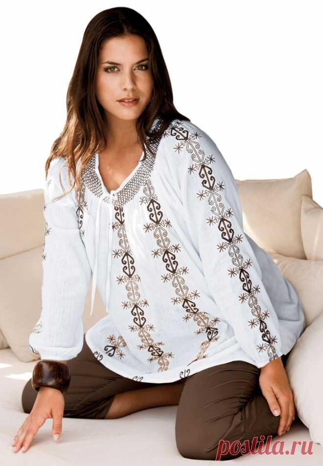 Блузки для полных (72 фото): которые стройнят, стильные фасоны, особенности дизайна, красивые модели, модные тенденции 2018