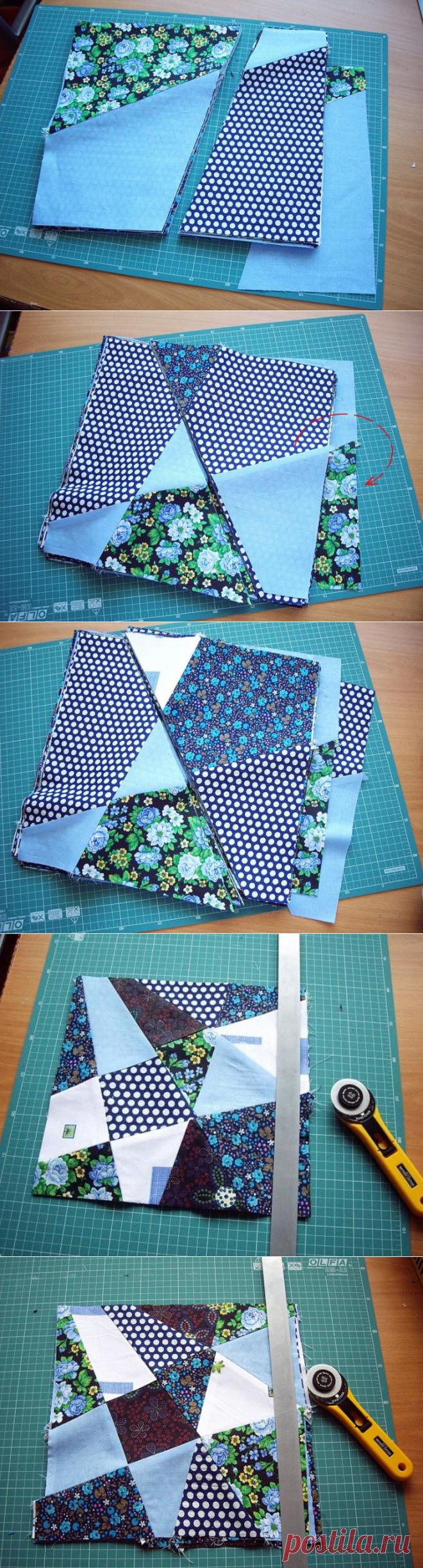 Лоскутное одеяло: мастер-класс — Сделай сам, идеи для творчества - DIY Ideas
