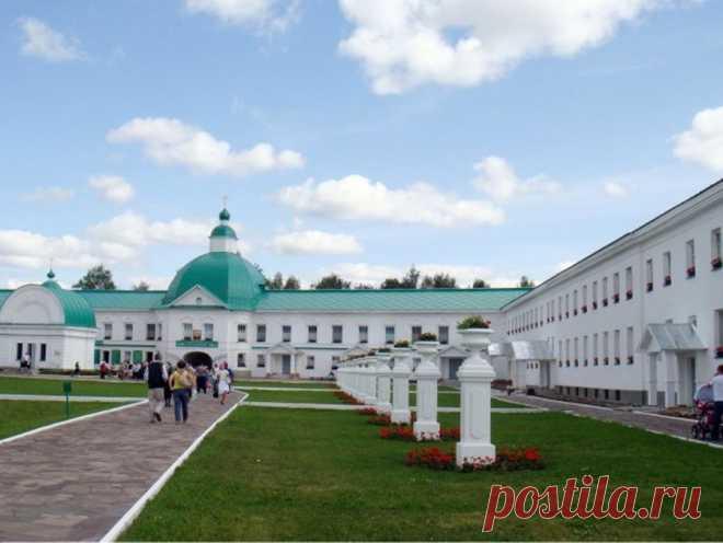 Свирский мужской монастырь в Лодейном поле