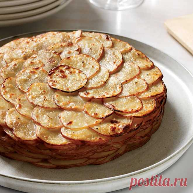 """Картофель """"Буланжер"""" Рецепт картофеля """"Буланжер"""", который пользуется популярностью среди французов."""