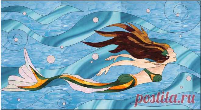 Mosaic Mermaid Patterns (Page 2) - Line.17QQ.com
