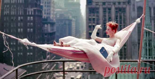 Редкие цветные снимки США 1950-х годов