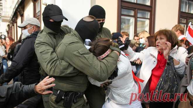 МВД Белоруссии сообщило о 250 задержанных на акции протеста 13 сентября - Газета.Ru | Новости