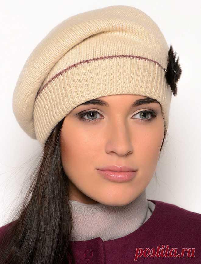вязаные шапки для женщин 50 лет фото какую выбрать Https