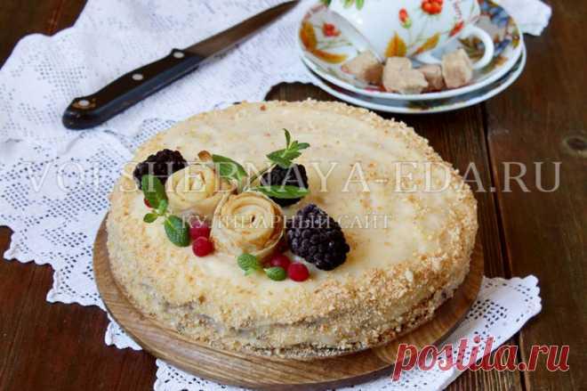 Блинный торт — рецепт с фото пошагово в домашних условиях | Волшебная Eда.ру