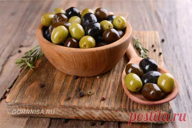 Чем полезны оливки | ГОРНИЦА | Здоровье | здоровая еда Чем полезны оливки. Пять-шесть оливок в день достаточно, чтобы обеспечить Ваш организм достаточным количеством питательных веществ - витаминов