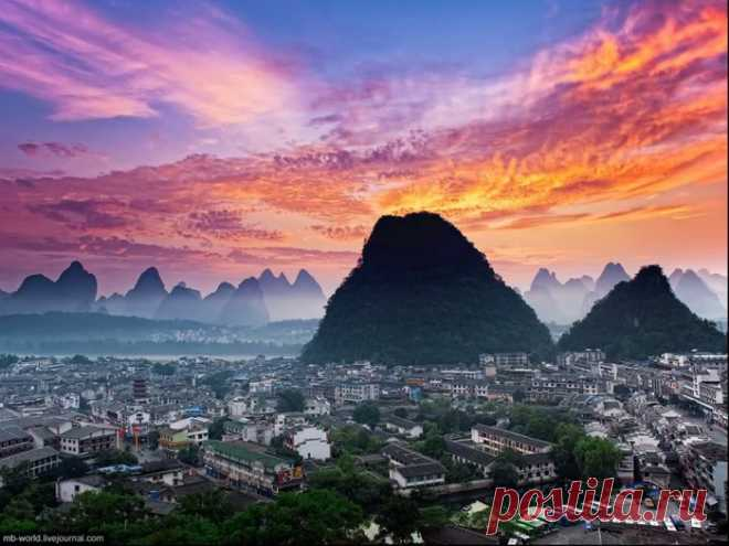 Яншо, уезд и курорт в области Гуанси (Китай)