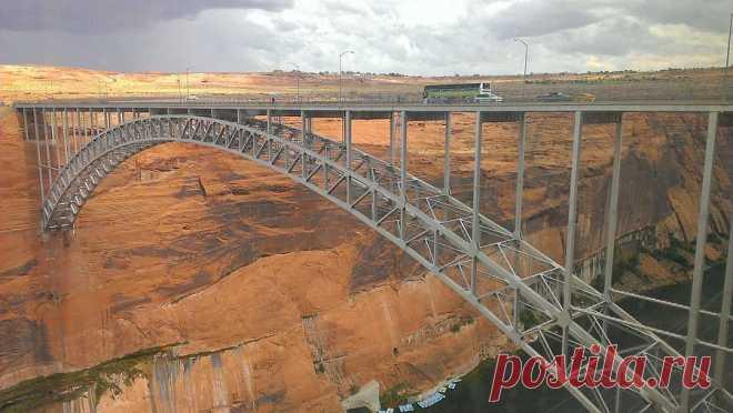 «Мост Глен-Каньон (Аризона, США)» — карточка пользователя Алёна Ростунцова в Яндекс.Коллекциях