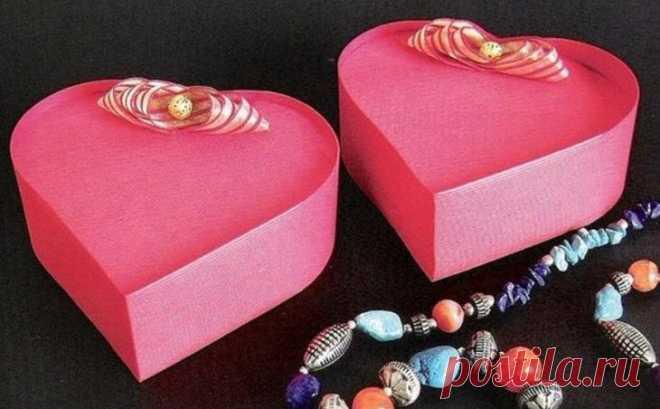 Красивые коробочки для подарков своими руками