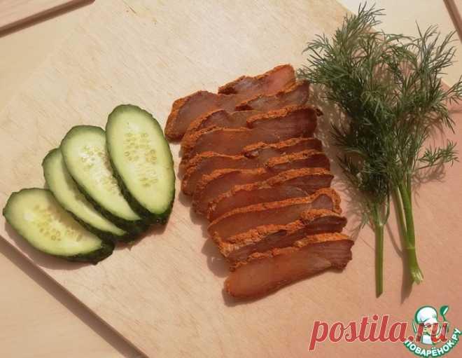Бастурма из куриной грудки – кулинарный рецепт