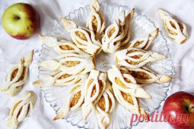 """Замечательное печенье к чаю """"Яблочные башмачки"""""""