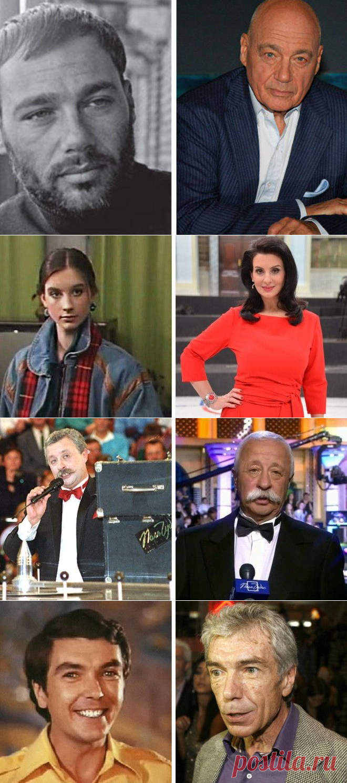 22 популярных телеведущих тогда и сейчас