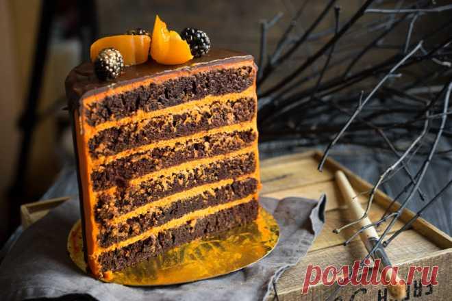 """Торт """"Тёмный Ларри"""" - новое открытие шокоголика - Andy Chef (Энди Шеф) — блог о еде и путешествиях, пошаговые рецепты, интернет-магазин для кондитеров"""