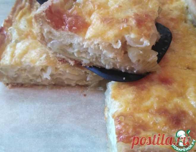 Французский луковый пирог – кулинарный рецепт