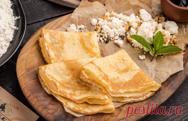Ten best recipes of pancakes for Maslenitsa - KitchenMag.ru