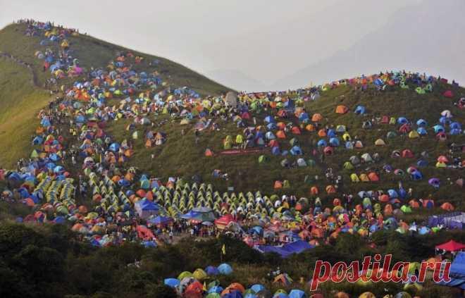 Кемпинг-фестиваль в Китае