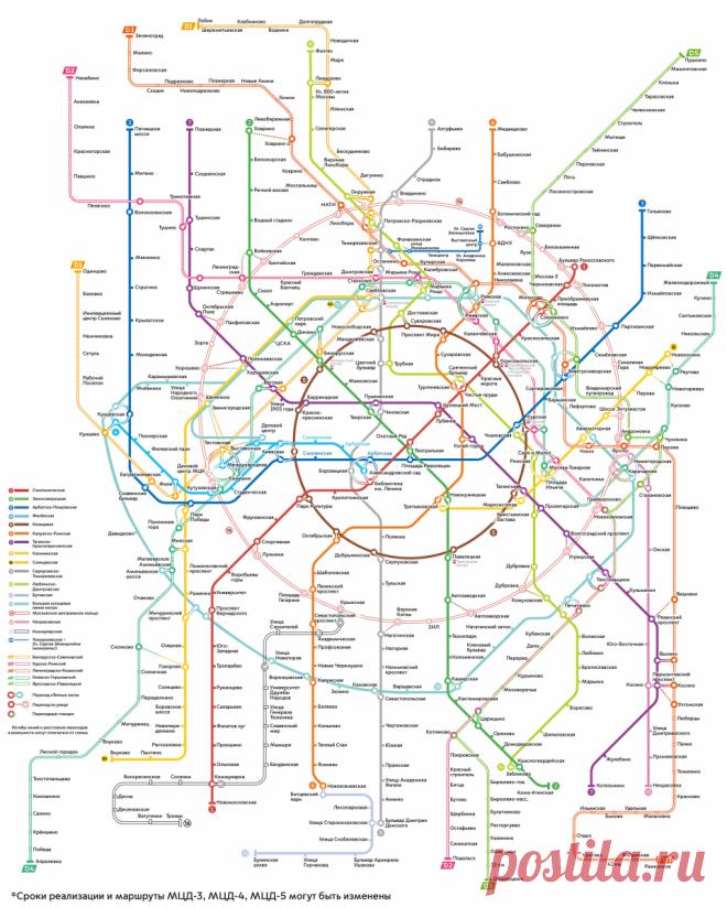 Метро — Комплекс градостроительной политики и строительства города Москвы