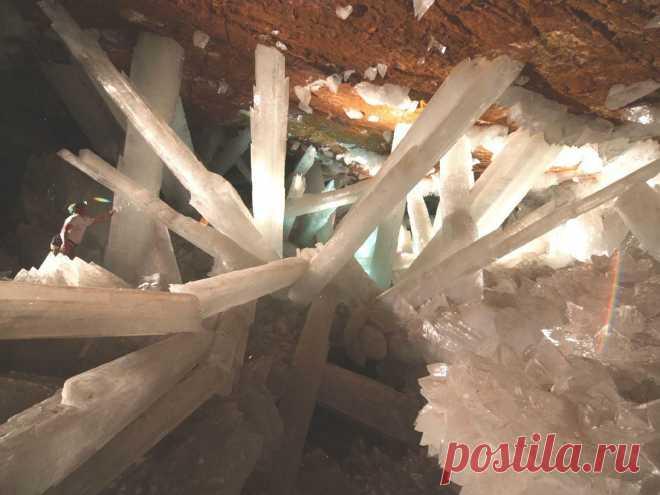 Пещера кристаллов в Мексике  | Неопознанное